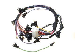 classic ford mustang underdash wiring parts for 1965 1966