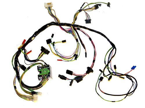 C9ZZ 14401 TACH classic ford mustang underdash wiring parts for 1965 1966 1967  at bakdesigns.co