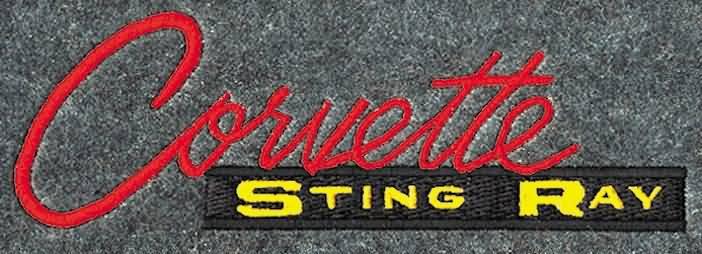 Corvette Stingray Logo. VETTE LOGO # 14. Stingray 63 -