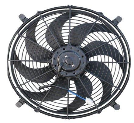 10 Electric Cooling Fans 2 Fan Kit 650 Cfm Each 7 5 Amp Draw Width 8 Height 11 1 4 Depth