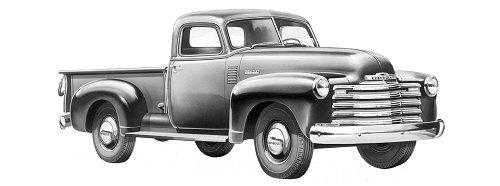Classic Car Parts Catalog: Classic Chevrolet Truck Aluminum Radiator Catalog